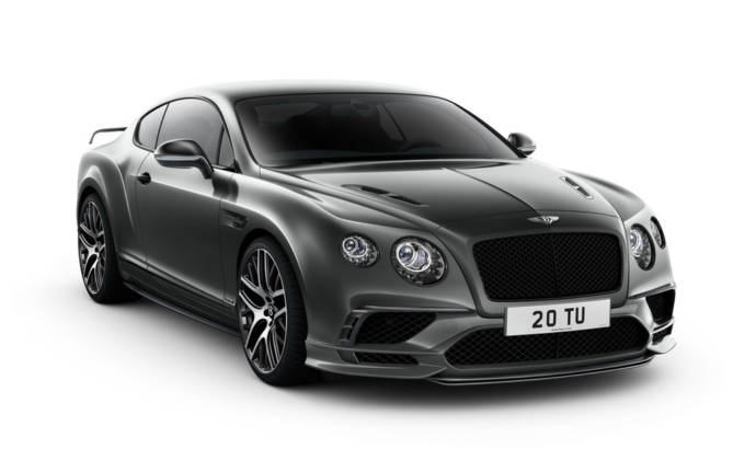 Bentley Continental Supersports unveiled