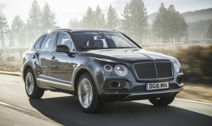 Bentley announced record sales in 2016