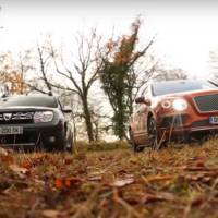 Dacia Duster versus Bentley Bentayga