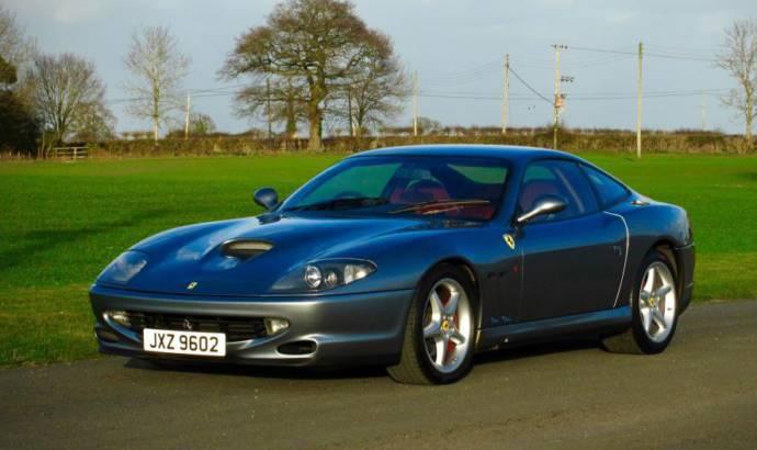 Ferrari 550 Maranello World Speed Record edition to be auctioned