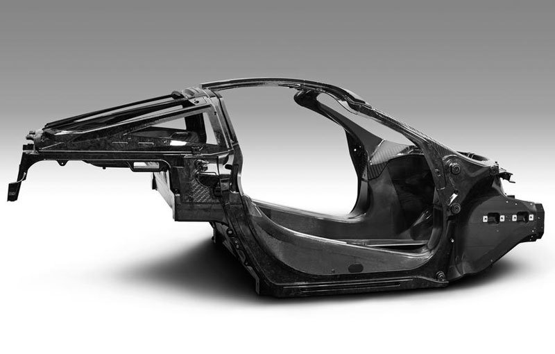 McLaren showcases the Monocage II, the structure of its future supercar