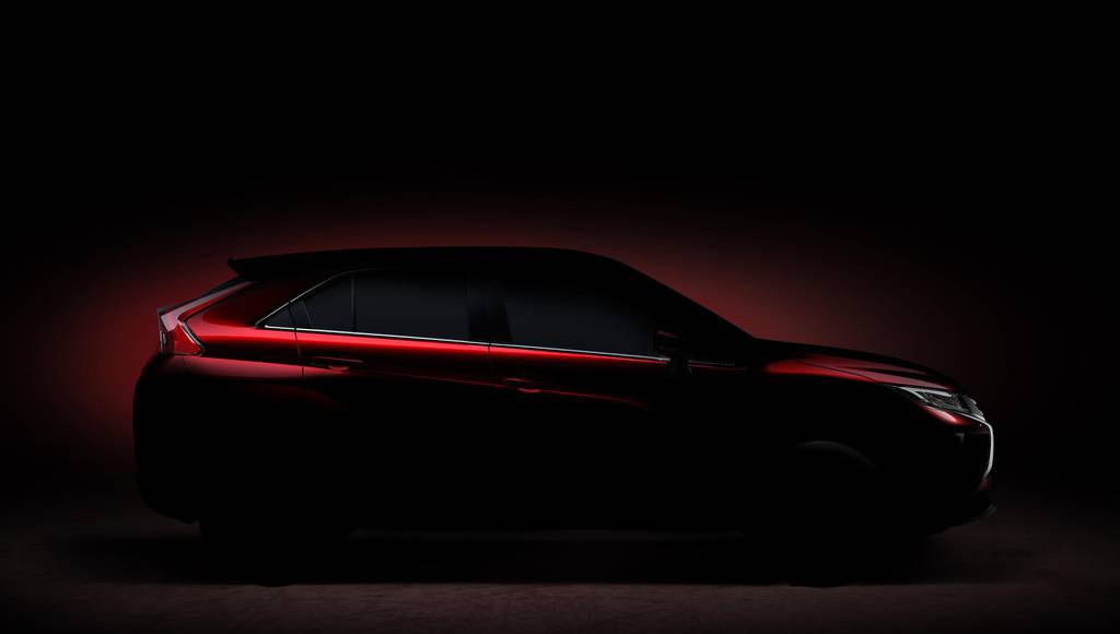 Mitsubishi teases its future SUV, expected in Geneva
