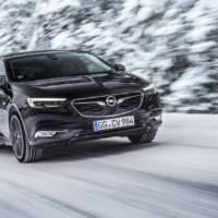 Opel Insignia Grand Sport has an intelligent AWD system