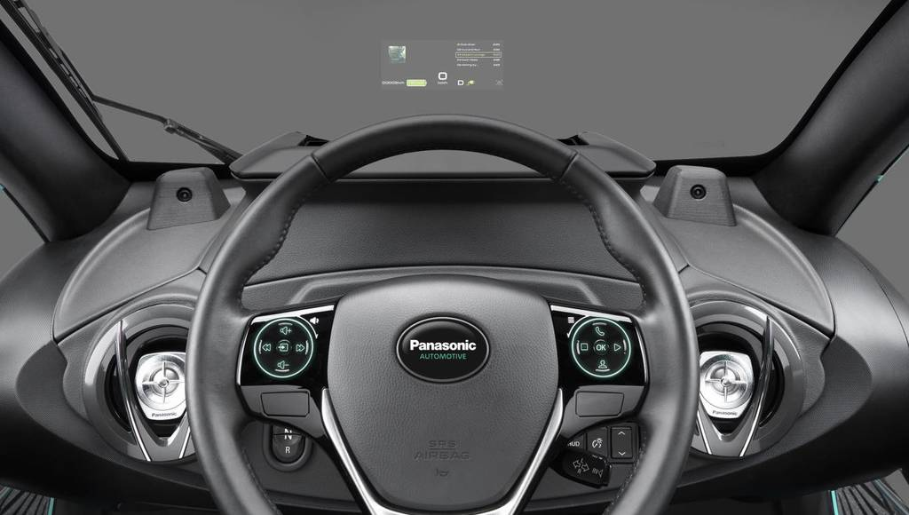 Panasonic introduces Head-uP Display and Augmented Reality