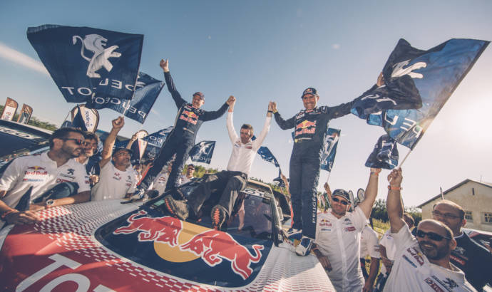 Stephane Peterhansel won the 2017 Dakar Rally