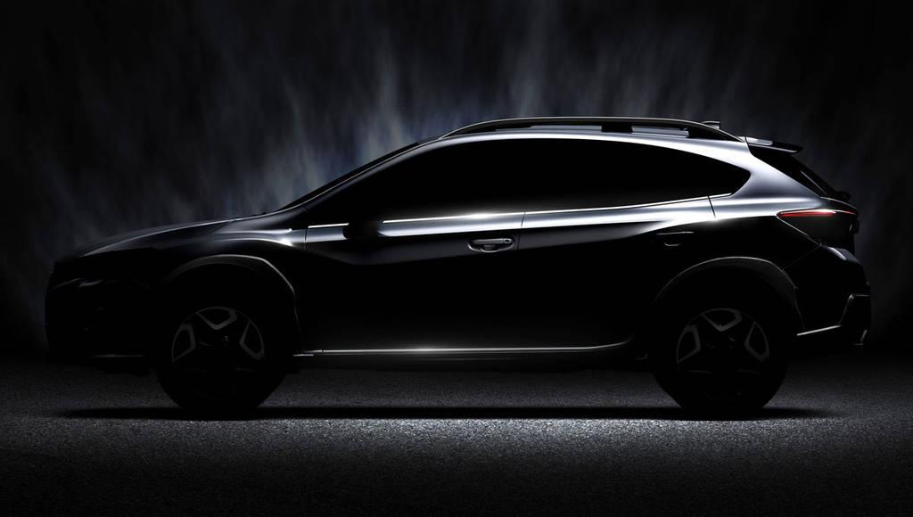 Subaru Crosstrek - First official picture