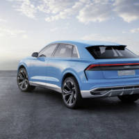 Audi Q8 concept - Official pictures and details