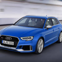 2017 Audi RS3 Sportback facelift is here