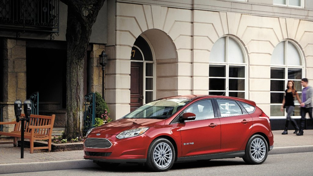 2017 Ford Focus Electric is available in Europe
