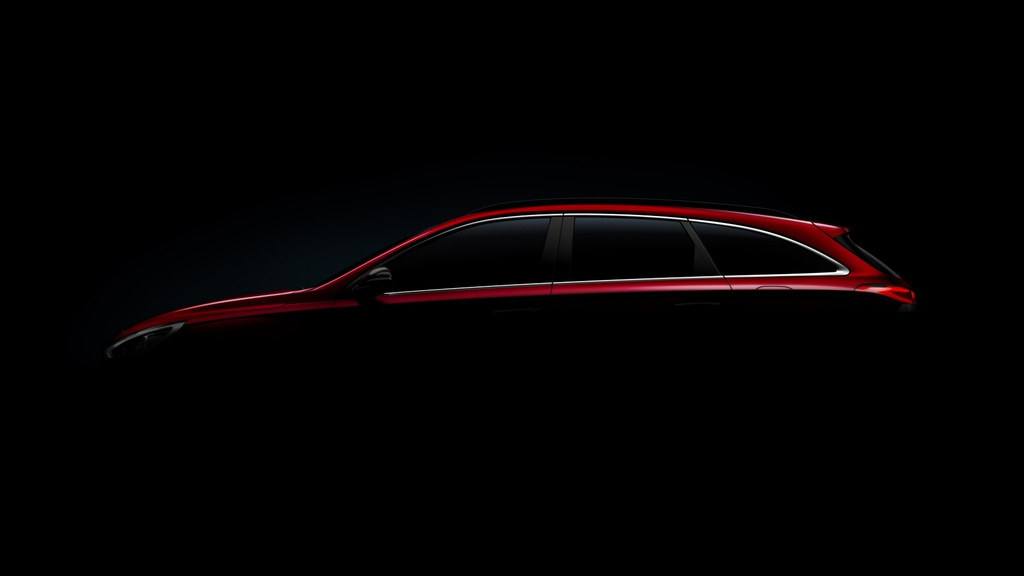 2017 Hyundai i30 Wagon - First teaser picture