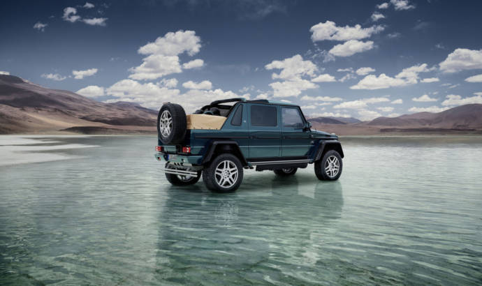 2017 Mercedes-Maybach G650 Landaulet is here. 630 HP and S-Class seats