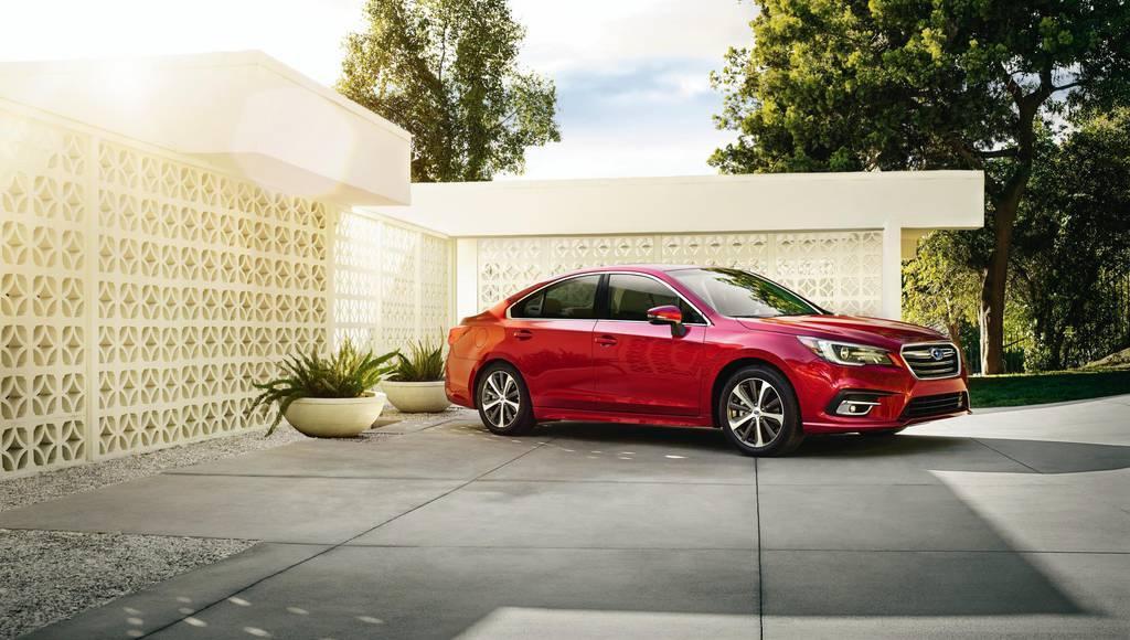 2018 Subaru Legacy introduced in Chicago