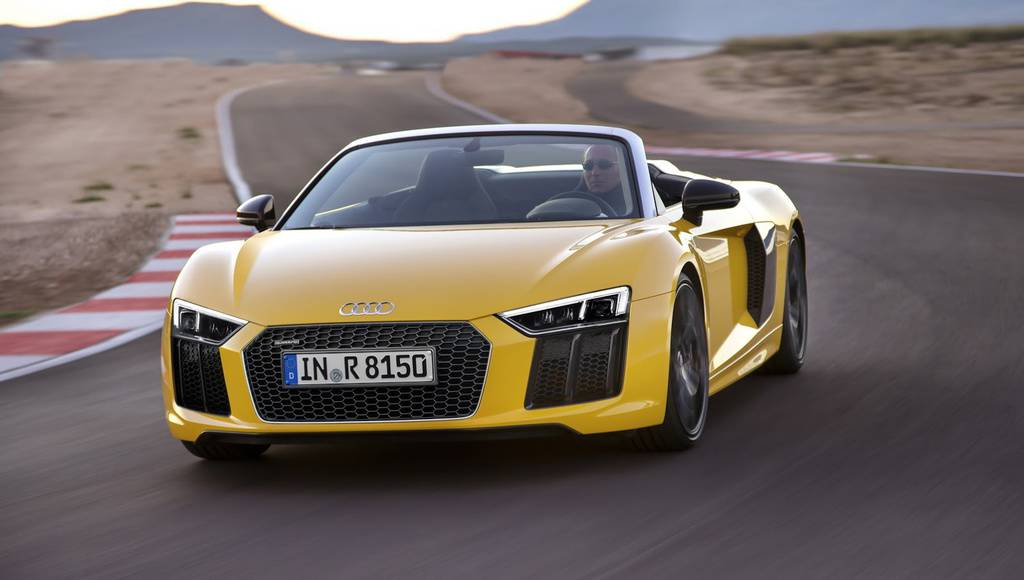 Audi R8 V10 Spyder introduced in US