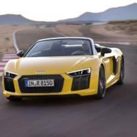 Audi R8 V10 Spyder introduced in US
