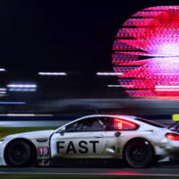 BMW M6 GTLM Art Car finishes Daytona 24hours race