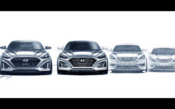 Hyundai Sonata facelift - First design sketches
