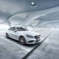 Mercedes-AMG C63 Cabriolet Ocean Blue Edition introduced