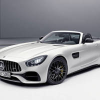 Mercedes-AMG GT C Roadster Edition 50 unveiled