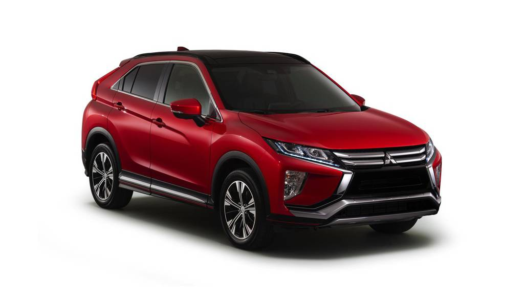 Mitsubishi Eclipse Cross unveiled ahead of Geneva Motor Show