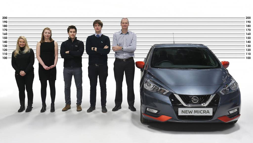 Nissan created the Micra for its tallest clients