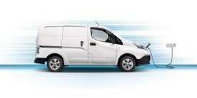Nissan e-NV200 is the most popular electric van in Europe