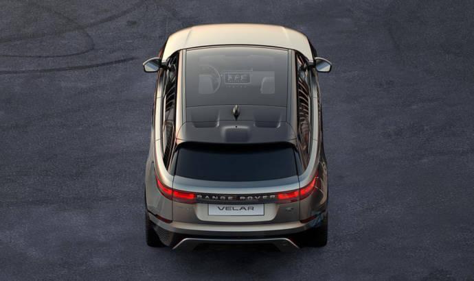 Range Rover Velar first teaser image