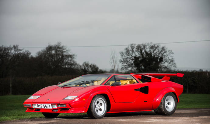 Record setting Lamborghini Countach to be auctioned
