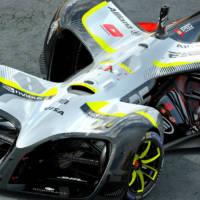 Roborace revealed the first autonomous electric race car