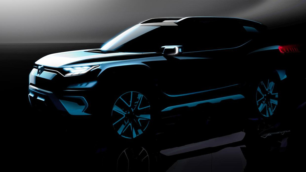 SsangYong XAVL Concept officially teased