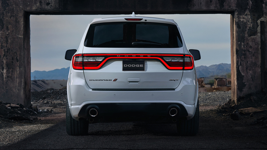 This is the new 2018 Dodge Durango SRT