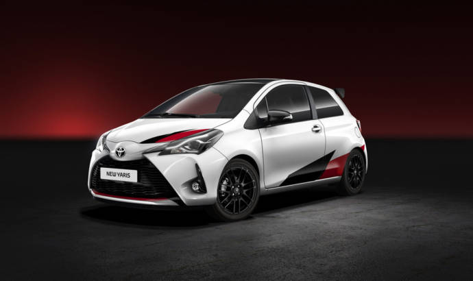 Toyota Yaris GRMN is the name of the Japanese supermini hothatch