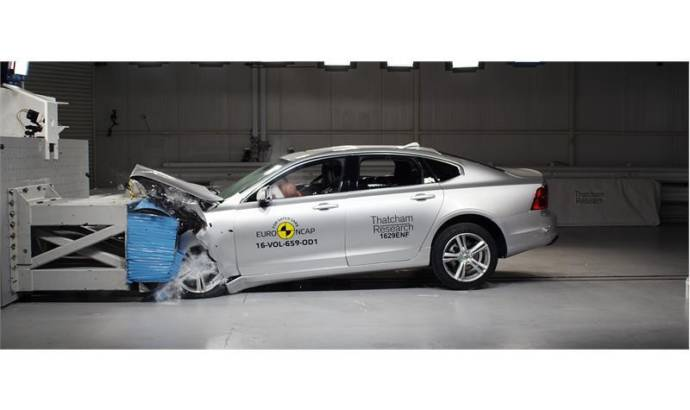 Volvo S90 and Ford Mustang EuroNCAP results