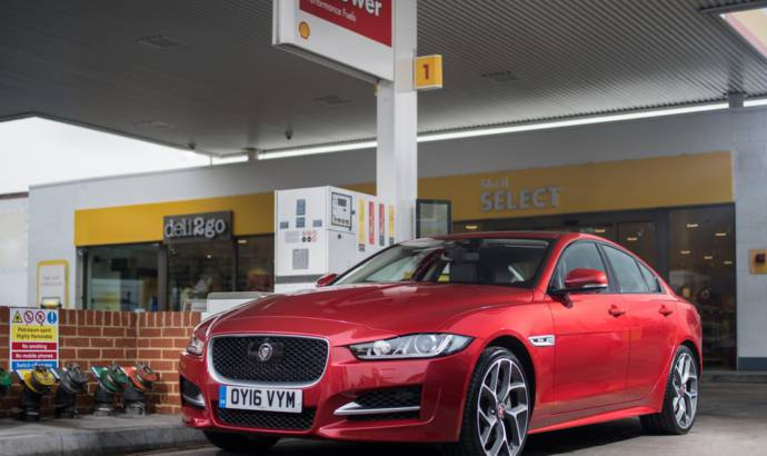 Jaguar and Shell help pay with your car