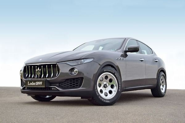 Maserati Levante gets new wheels from Loder1899