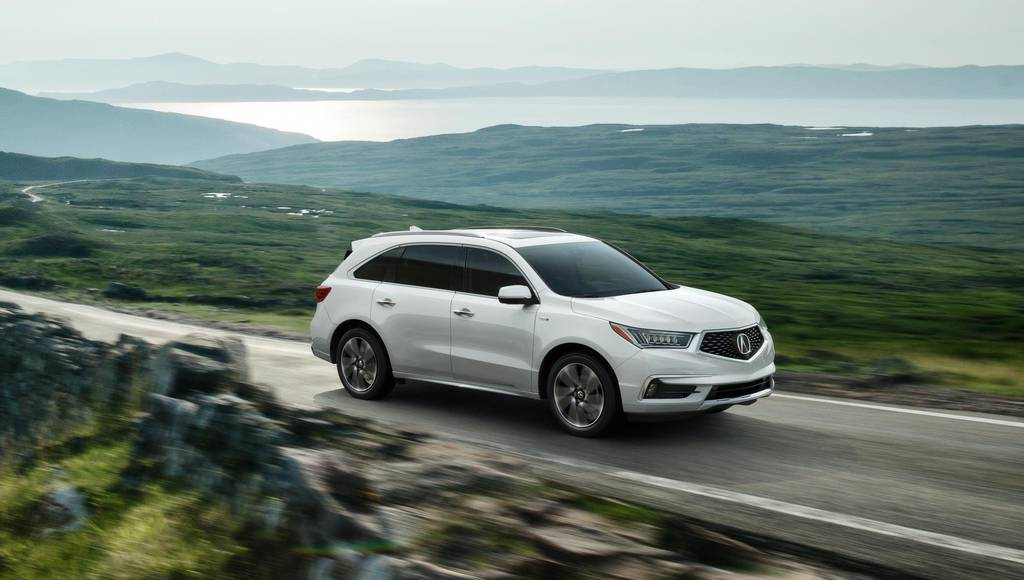 2017 Acura MDX Sport Hybrid launched in the US