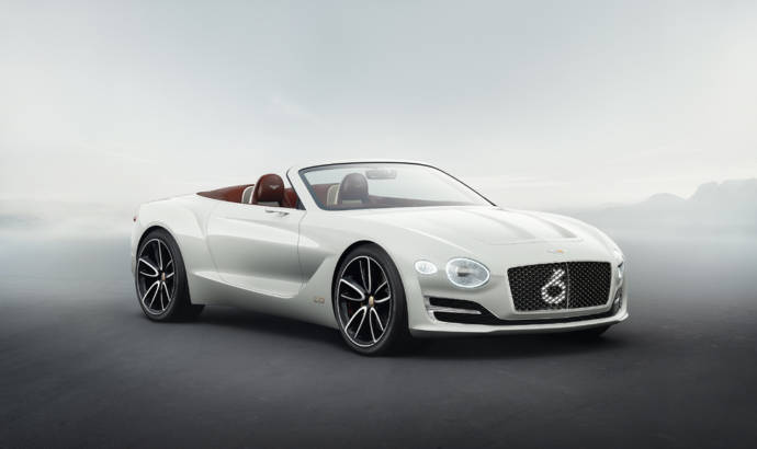 Bentley EXP 12 Speed 6e Concept is ready fot he future
