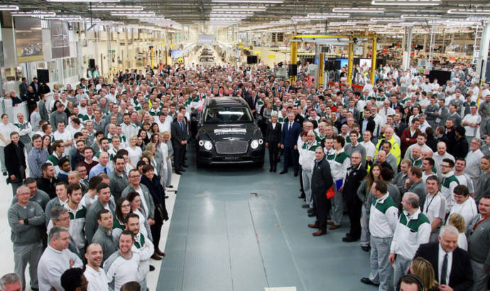 Brexit - Bentley could move production outside Great Brittan