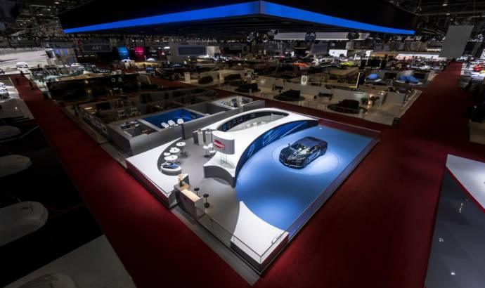 Bugatti awarded best stand design at Geneva Motor Show