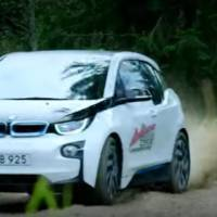Can you do some proper rallying in a BMW i3?