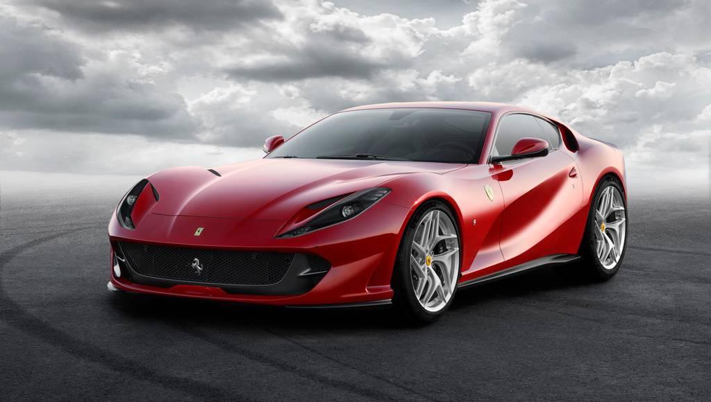 Ferrari 812 Superfast unveiled in Geneva