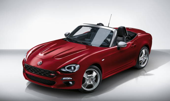 Fiat 124 Spider Europa introduced in Geneva