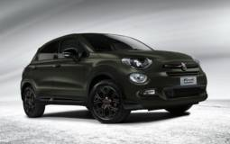 Fiat 500X S-Design version joins the stand in Geneva