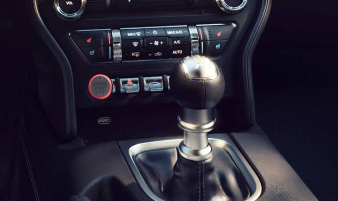 Ford Mustang engine start button beats like a heart