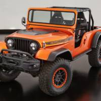 Jeep CJ66 is a true retro off-roader