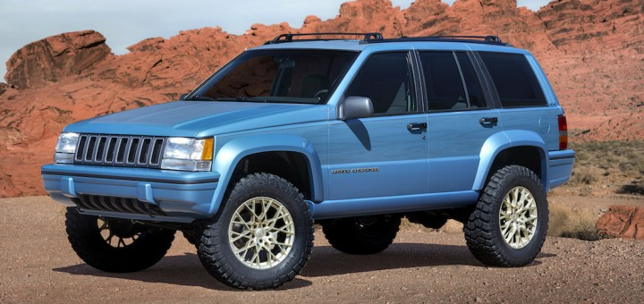 Jeep Grand One Concept unveiled