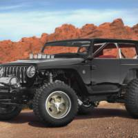 Jeep Quicksand Concept unveiled at Easter Jeep Safari