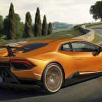 Lamboghini Huracan Performante official photos and details