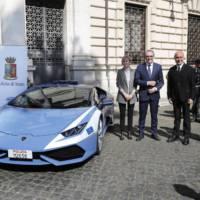 Lamborghini Huracan for the Italian Police