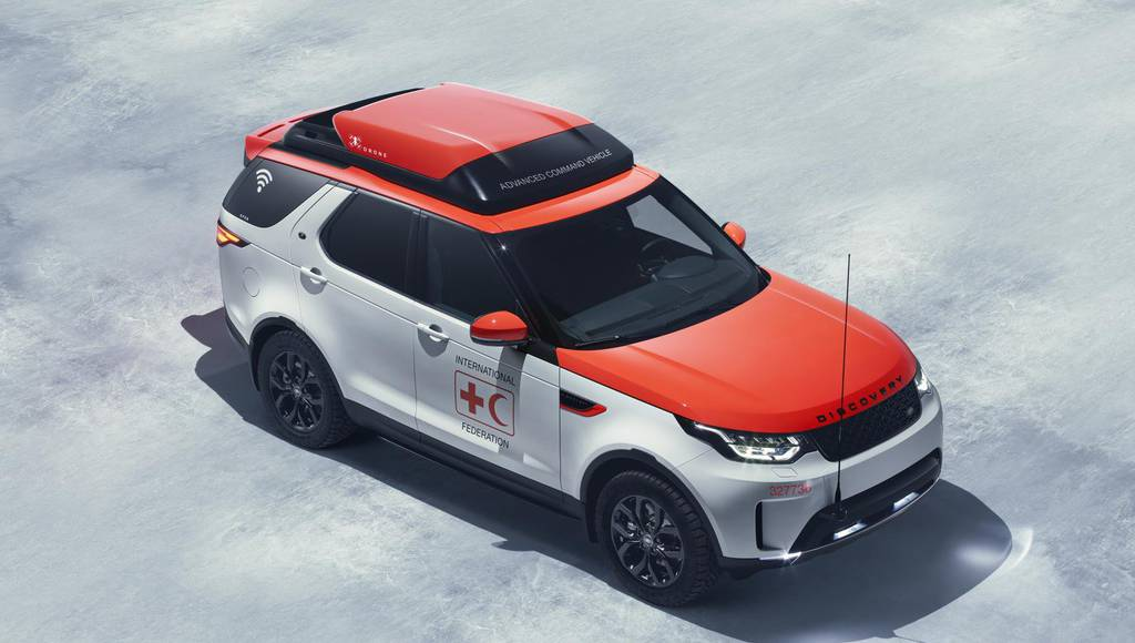 Land Rover Discovery Project Hero created to save lives