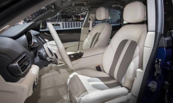 Maserati Levante with Ermenegildo Zegna leather